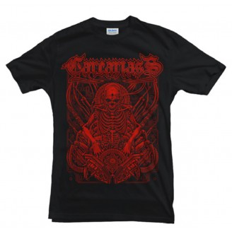 T-shirt Red Skelleton