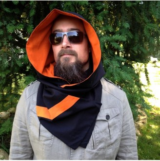2 in 1 Cotton Scarf Hood
