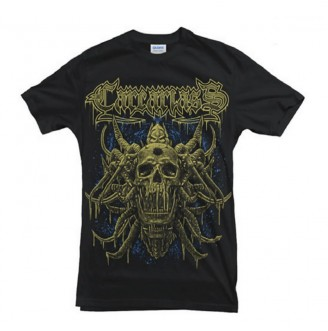 T-shirt Yellow Skull...