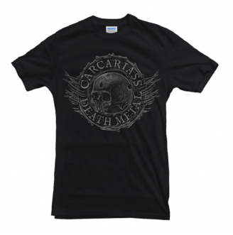 T-shirt Grey Skull CARCARIASS