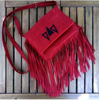 Handbag with Fringes