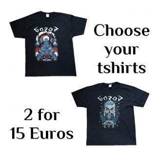 PACK 2 TSHIRT USA Gorod