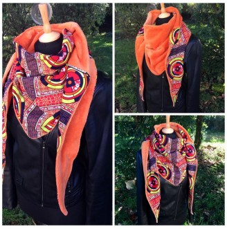 Reversible Scarf WaxiRed